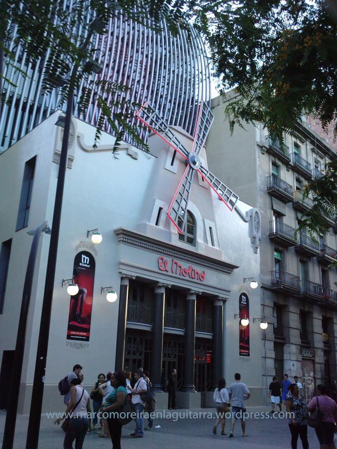 """El Molino"" - Clases de Guitarra Barcelona"