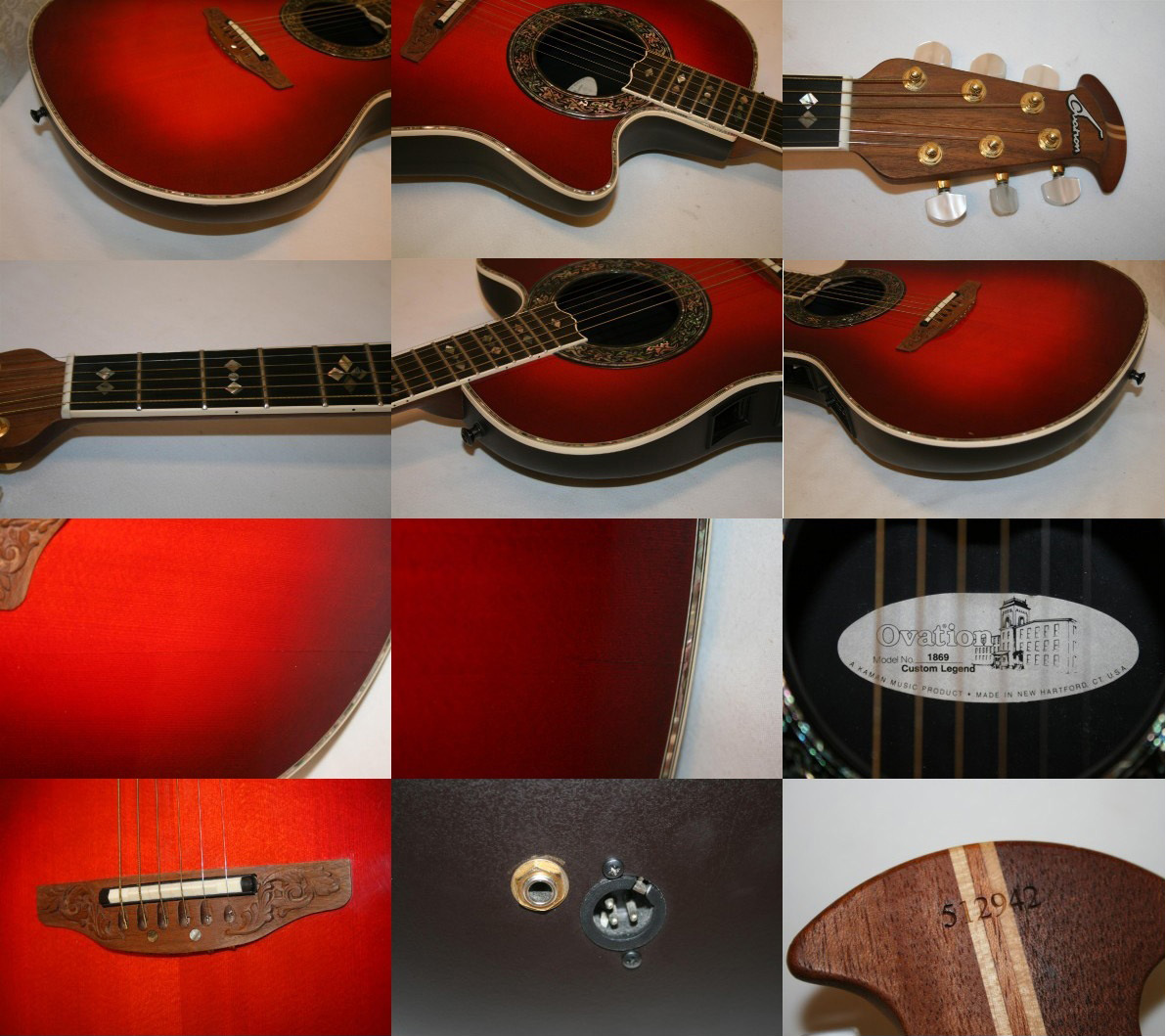 Ovation Varias Fotos - Clases de Guitarra Barcelona