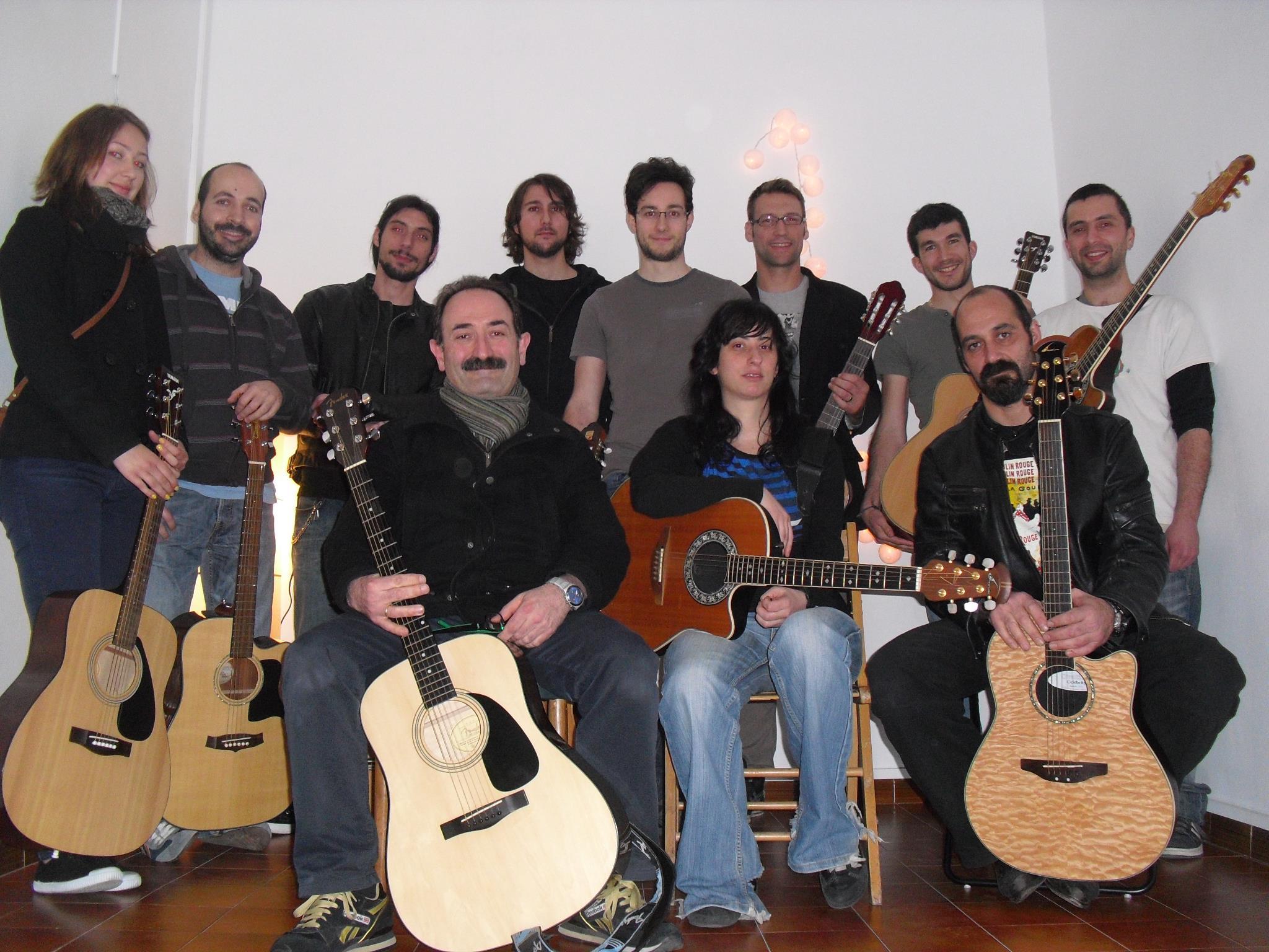 Taller de Guitarra 2012 - Foto grupo - Clases de Guitarra Barcelona