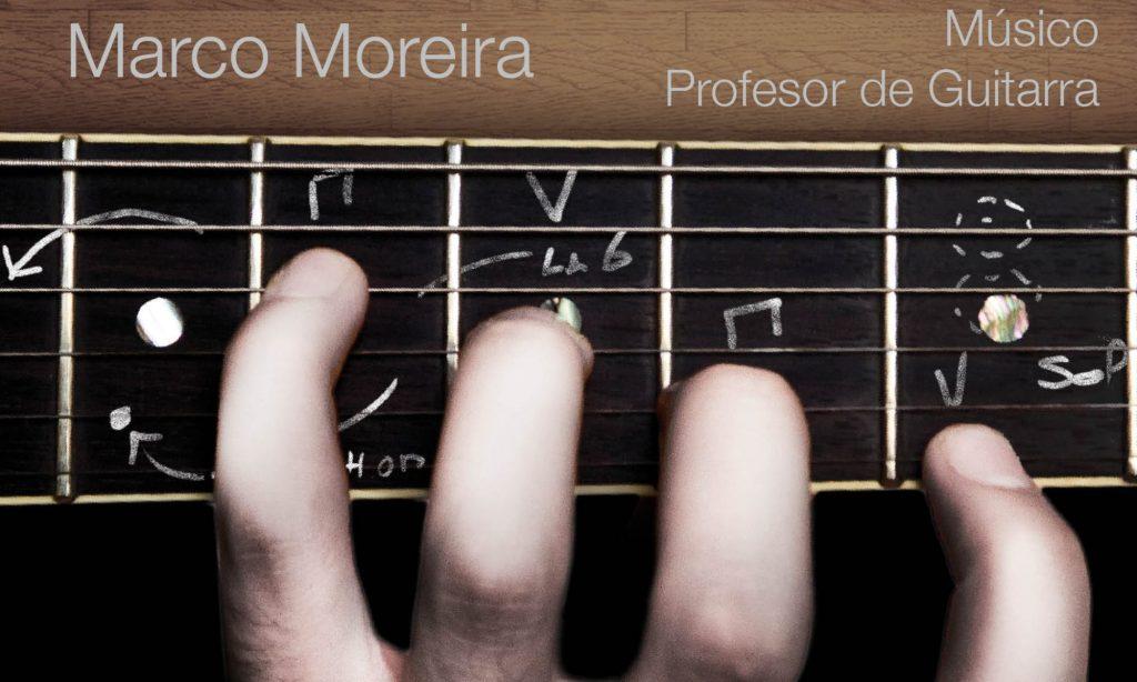 Clases de Guitarra Online y presenciales en Barcelona / Profesor de Guitarra Online Marco Moreira