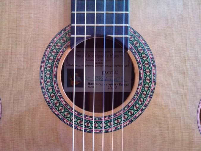 Guitarra Manuel Rodriguez E Exotic - Foto2 - Clases de Guitarra Barcelona