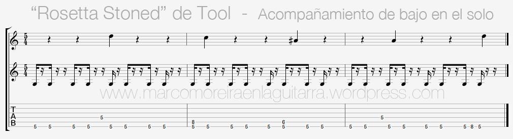 Clases de Guitarra Online - Rosetta Stoned Riff - Clases de Guitarra Barcelona