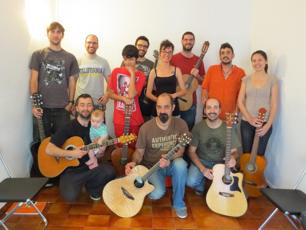 Clases de Guitarra Online - Clases de Guitarra Barcelona - Taller de Guitarra 2013 - Clases de Guitarra Barcelona