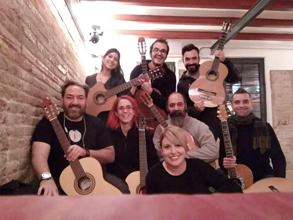 Taller de Guitarra en Barcelona / Clases de Guitarra Online